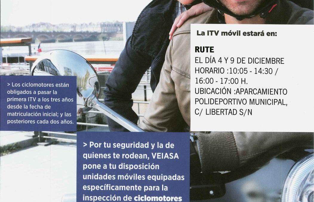 ITV Ciclomotores (Diciembre 2015) 1