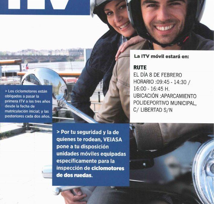 ITV Ciclomotores (Febrero 2016) 1
