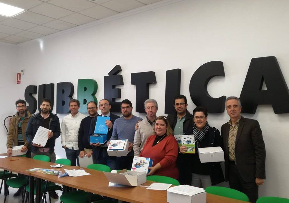 Plan especial para la dotación equipos de robótica en los centros Guadalinfo 2018 1
